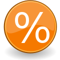 Percentage fractions